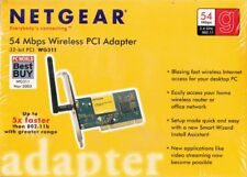 NETGEAR WG311NA 54MBPS WIRELESS PCI ADAPTER CARD 802.11B/G - NEW AND SEALED!