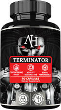 Apollo's Terminator 90 Capsules Increased libido and sexual performance Eurycoma