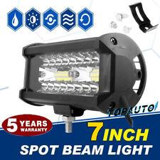 1PC 7inch 400W LED Work Light Bar Flood Spot Beam Offroad SUV Driving Fog Lamp @