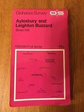 Ordnance Survey Map Sheet 165 - Aylesbury And Leighton Buzzard