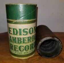 """Early Edison Cylinder Record 8089 """"Descriptive Auction Sale of Household Good 00004000 s"""""""