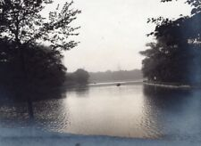 Canal Large View Dunkerque Old Snapshot Photo 1900