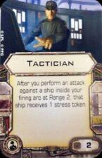 1 X-Wing Miniatures Tactician Crew Upgrade Card