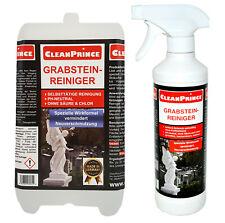 Grabsteinreiniger 2,5 Liter Naturstein Marmor Granit Reinigungsmittel Außen