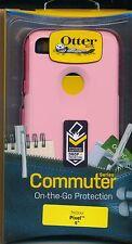 "OtterBox PINK ~ Pixel 5 inch ~ COMMUTER Case ""Rosmarine"" Design NEW  Reg $43 oc1"