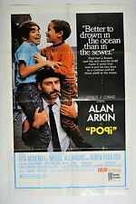 "Popi Poster Movie Folded 40""x27"" Alan Arkin"