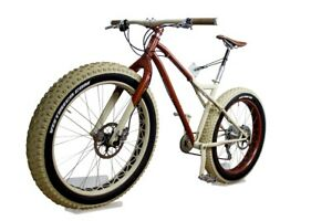 Fahrrad Wandhalterung für Fatbike aus Acrylglas   Radhalter sehr stabil