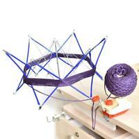 Patchwork Thread Winder Knitting Umbrella Swift Wool Yarn String Crochet Tool
