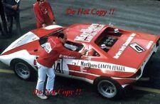 Munari & Andruet Lancia Stratos HF Targa Florio 1973 Photograph 1