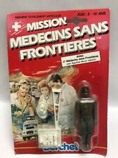MEDECINS SANS FRONTIERES BLISTER ANCIEN BERCHET Action Figure