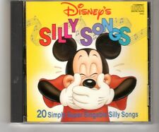 (HQ339) Disney's Silly Songs, 20 tracks - 1988 CD