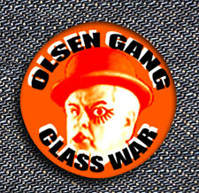 2 x Olsen banda Gang rapinatori Fun Evil Egon Clockwork Class era Button