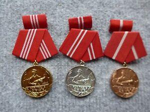 """Medaille für """"Treue Dienste""""  der Kampfgruppen"""