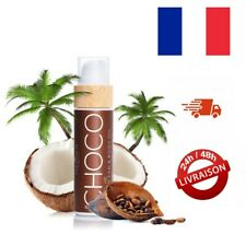 Huile Bronzante Chocolat COCOSOLIS Choco - Crème Bio pour Bronzage Naturel 110ml