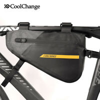 Waterproof Outdoor Cycling  MTB Road Bike Triangle Frame Tube Bag Large Capacity