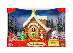 Sylvanian Families Calico Critters Santa Gingerbread Playhouse Christmas Set