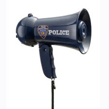 Dress Up America Kids Pretend Play Police Officer's Megaphone with Siren Sound