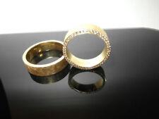 Anillos de joyería de metales preciosos sin piedras oro