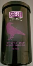 Yankee Candle Witches Brew Limited Edition Halloween Medium Pillar RARE