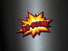 1 x adhesivo Ka-boom! Bang Boom Pang hechizo cómic sticker tuning decal Fun gag