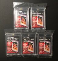 ULTRA PRO ONE TOUCH 130pt (x5) Magnetic Card Holders (FIVE PACK)