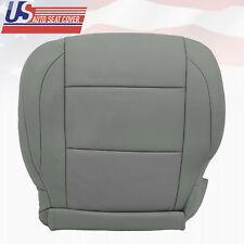 2005 2006 2007 2008 Driver bottom Leather Seat Cover for Nissan Titan SE Gray