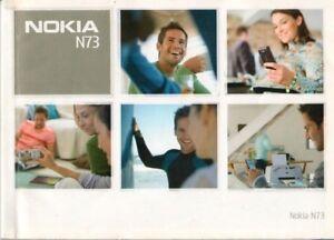 NOKIA - N73 - Bedienungsanleitung + Quick start guide - B8126