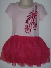 Children's Place Girl's PINK Ballerina Tulle Dress  Sz 18-24 mo NWT
