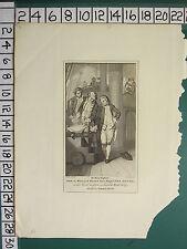 C1830 antico stampa ~ Principe William Henry Naval uniforme a bordo ROYAL George