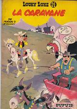 Lucky Luke 24 - La Caravane. MORRIS 1964