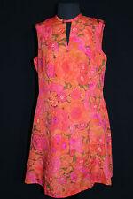 Vintage Francés 600ms Coloridos Tamaño Real Vestido Tamaño 12-14