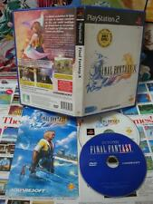 Playstation 2 PS2:Final Fantasy X [RARE COLLECTOR + DVD BONUS] COMPLET - Fr