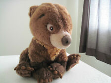 "Disney Store Authentic SMALL KODA BEAR BROWN 11"" Plush Stuffed Animal"
