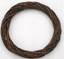 "Wicker / Willow  Wreath Ring- Dark Willow 14""(36cm) dia.-Pack of 9"