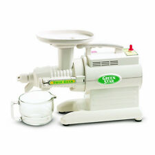 Tribest Green Star 2000 Juicer GS2000 Twin Gear ~NEW~220 VOLT~White