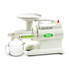 Tribest Green Star 2000 Juicer GS2000 Twin Gear ~ NEW  ~ GS2000, White