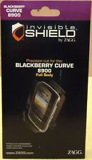 Zagg Invisible Shield Blackberry Curve 8900 Full Body Item A