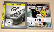 2 PLAYSTATION 3 SPIELE SET - FIFA 11 & GRAN TURISMO 5 PROLOGUE - PS3