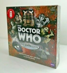 BBC DOCTOR WHO DVD Board Game 2012 (50th Anniversary) By Paul Lamond -NEW/SEALED