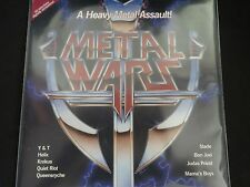 """Metal Wars"" LP. Compilation. Judas Priest, Queensryche, Bon Jovi & more. RARE"