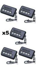 5 -Remocon Universal Car Alarm Garage Door Gate Learning cloning Keychain Remote