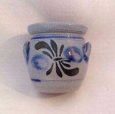 Vintage Betschdorf Alsace Veritable Gres Au Sel Small Jug Jar Pottery Vase