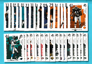 2000 Upper Deck Sp Authentic RC's /1250 - Pick One - Fill Your Set (KCR)