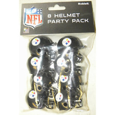 PITTSBURGH STEELERS NFL Cupcake / Cake Topper Mini Football HelmetS (8 ct.)