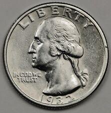 1932-p Washington Quarter.  A.U.  126887