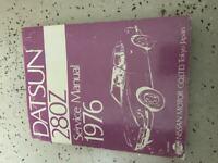 1976 Datsun 280Z Service Repair Shop Workshop Manual OEM