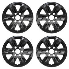 "17"" Black Wheel Skins Hubcaps FOR 2015 - 2019 Ford F-150 F150 F 150 XL / XLT"
