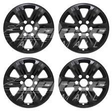"17"" Black Wheel Skins Hubcaps FOR 2015 2016 2017 Ford F-150 F150 F 150 XL / XLT"