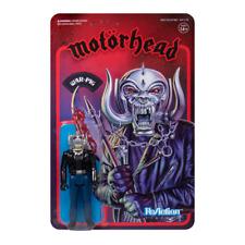 Motörhead Warpig Snaggletooth Retro 3 3/4 Inch ReAction Figur Super7