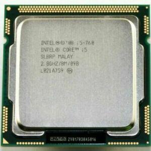INTEL QUAD CORE I5-760 2.8GHZ 8M PROCESSOR CPU LGA1156 Free Express
